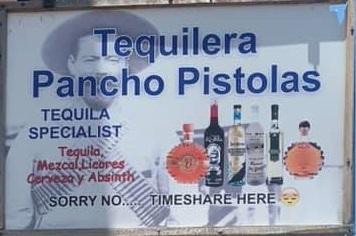 Tequilera Pancho Pistolas